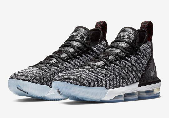 """Official Images Of The Nike LeBron 16 """"Oreo"""""""