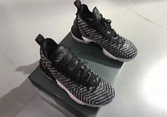 "Nike LeBron 16 ""Oreo"" Honors His Family And Hometown"