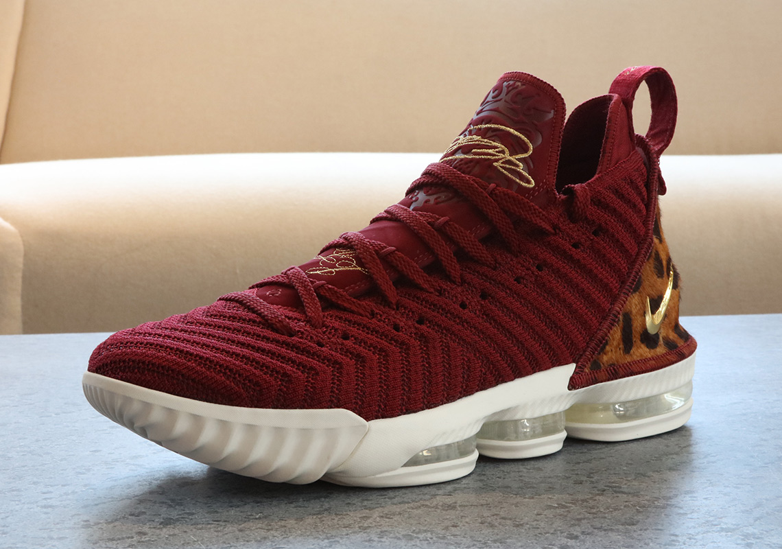 LeBron James To Debut Regular Season With Nike LeBron 16