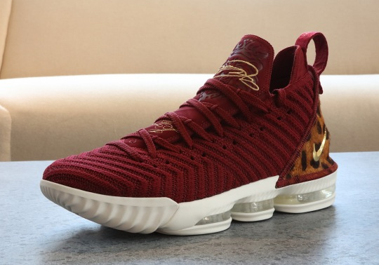 "LeBron To Debut A ""King"" Colorway Of The LeBron 16 On Opening Night"