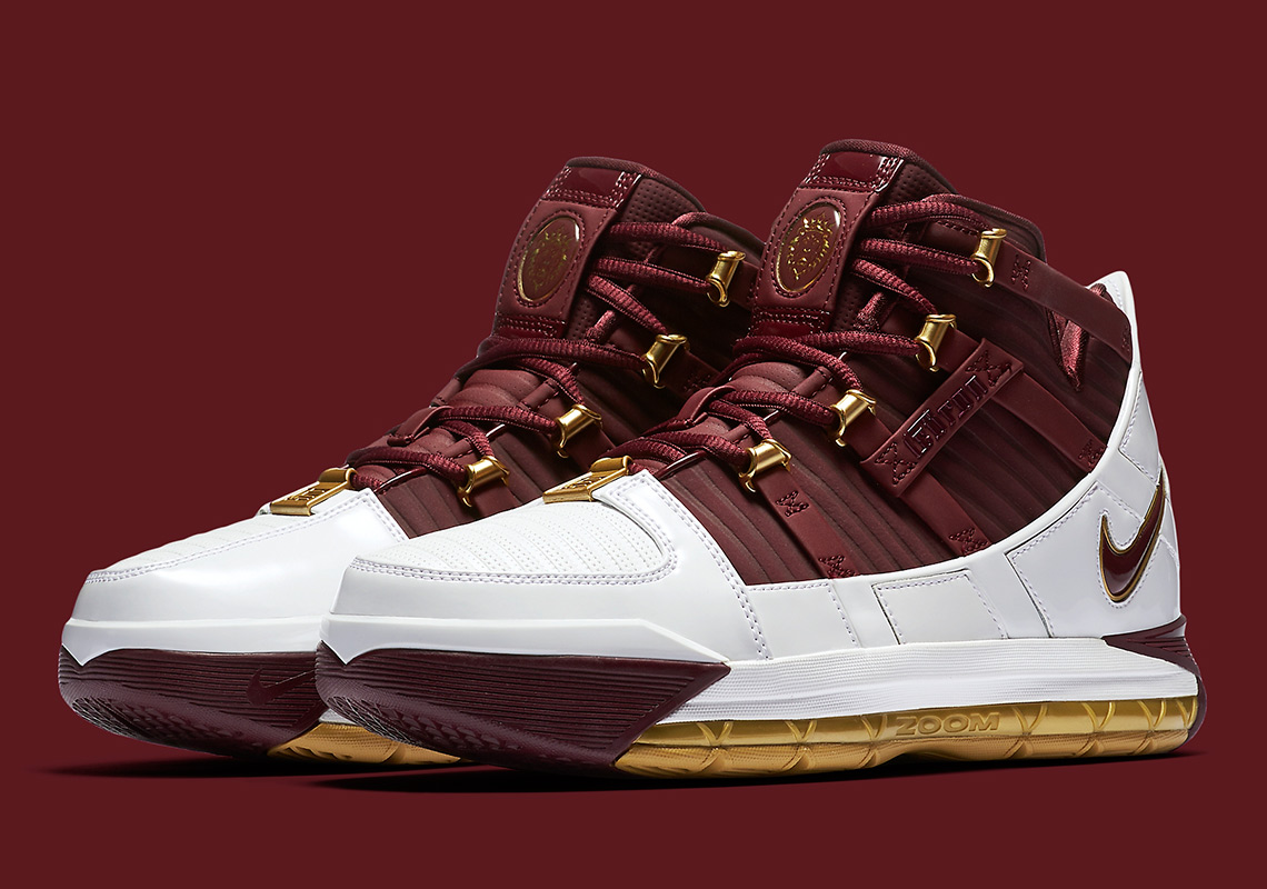 the best attitude 4cdc6 2c1a2 Nike LeBron 3 CTK Christ The King BQ2444-100 Release Info ...
