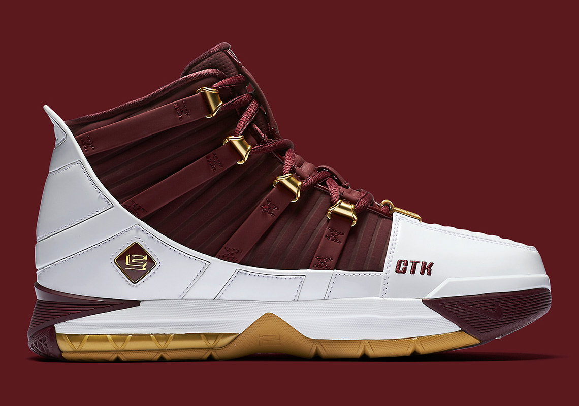 6632ac056dcf6 Nike LeBron 3 CTK Christ The King BQ2444-100 Release Info ...
