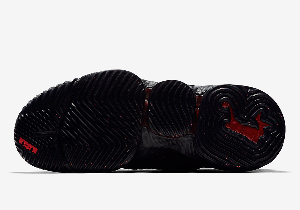 separation shoes 8e770 f506d Nike LeBron 16 Fresh Bred AO2595-002 Photos + Release Info ...