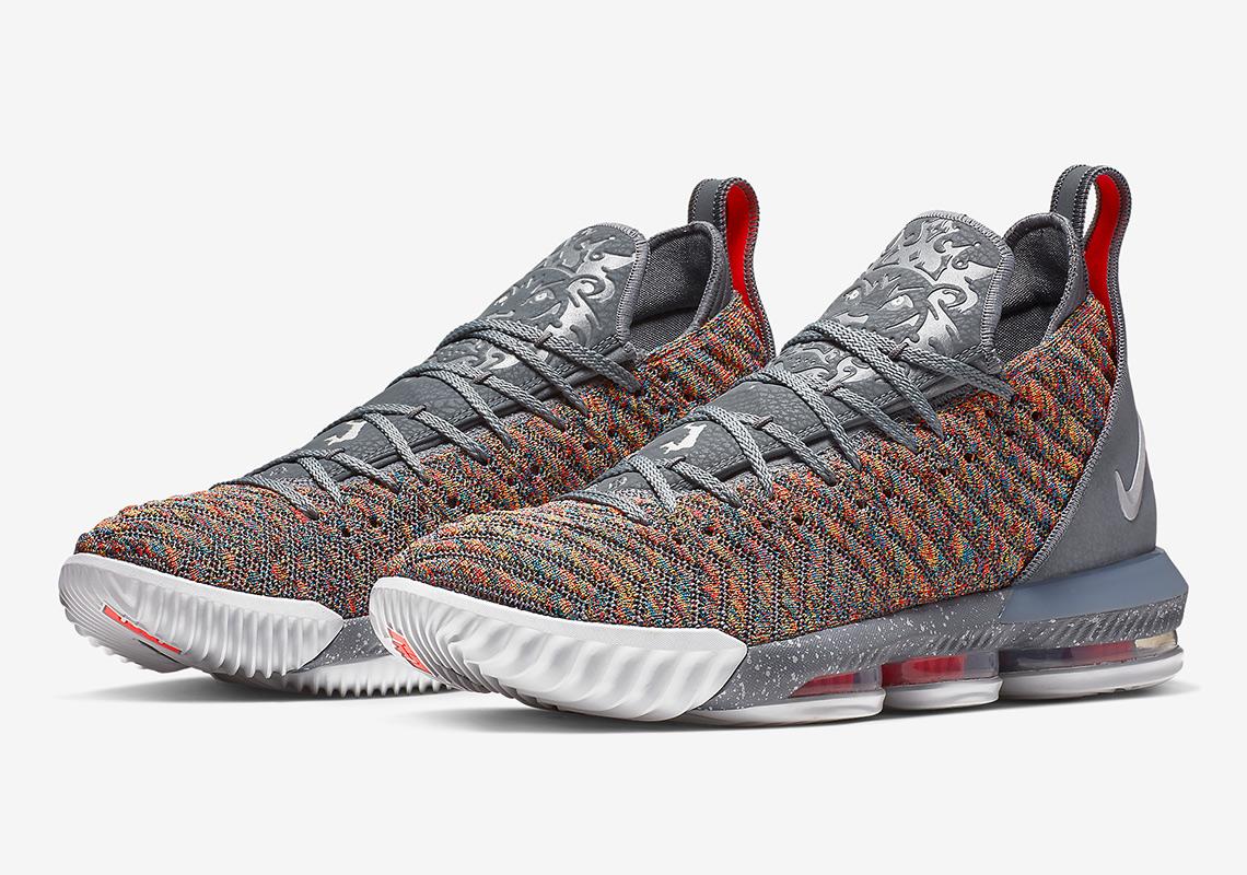 Nike LeBron 16 BQ5969-900 20 20 Release Info