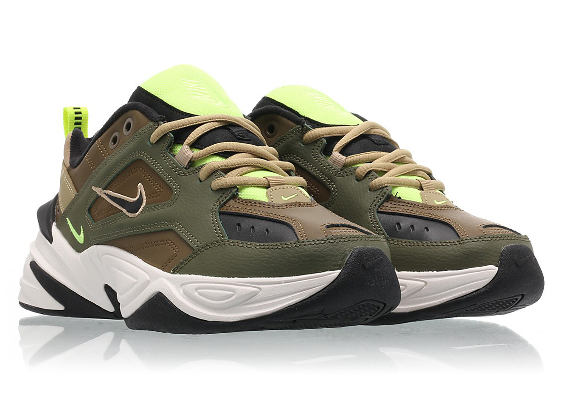 size 40 7b3ba c3c16 The Nike M2K Tekno For Women Arrives In Medium Olive
