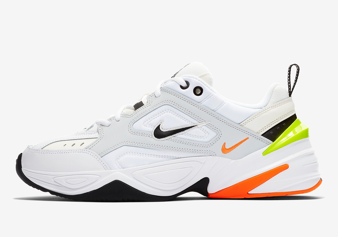 Umile sposato studia  Nike M2K Tekno Pure Platinum Volt Orange AV4789-004 Release Info |  SneakerNews.com