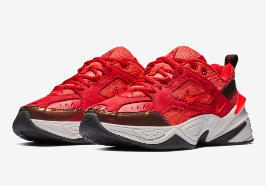 "The Nike M2K Tekno ""Red Suede"" is Coming Soon"