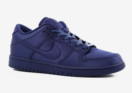 The NBA And Nike Release Satin SB Dunks