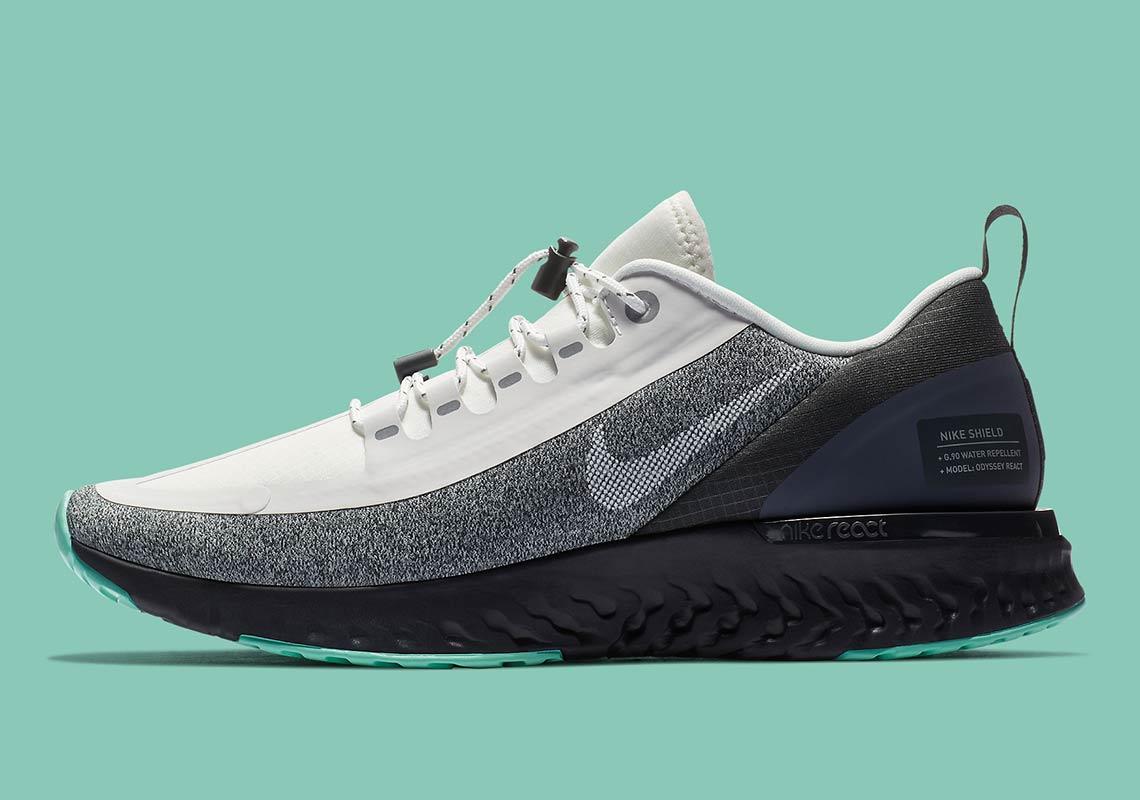 730c8200dd80 Nike Odyssey React Shield AA1635-100 Release Date