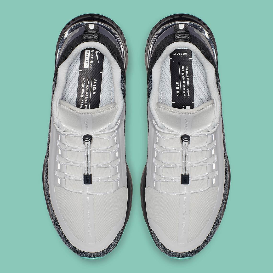 online store 8db87 8dd17 Nike Odyssey React Shield AA1635-100 Release Date ...