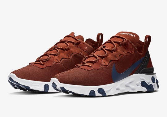 "The Nike React Element 55 Is Arriving In ""Paul Brown"" Tones"