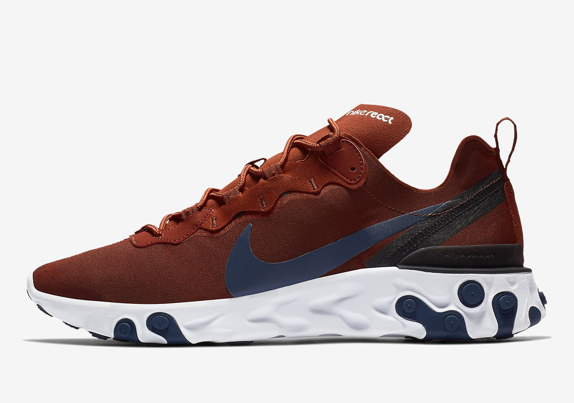 Nike React Element 55 Release Date October 2018 130 Style Code BQ6166 600