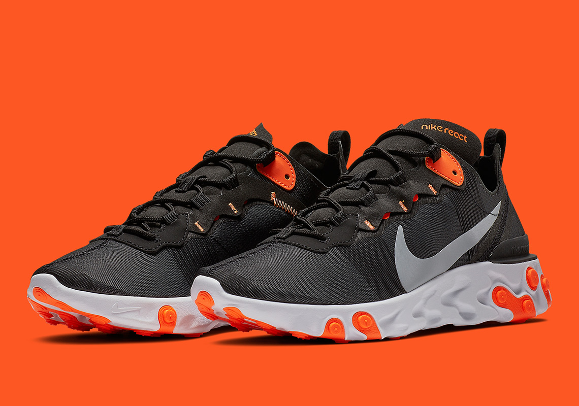 new products c796b f5a1b Nike React Element 55 Halloween BQ6166-006 Release Info ...
