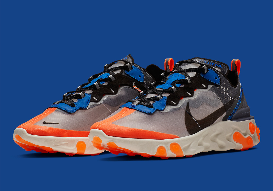 36de824b36e0c Nike React Element 87 Returns In Blue And Orange