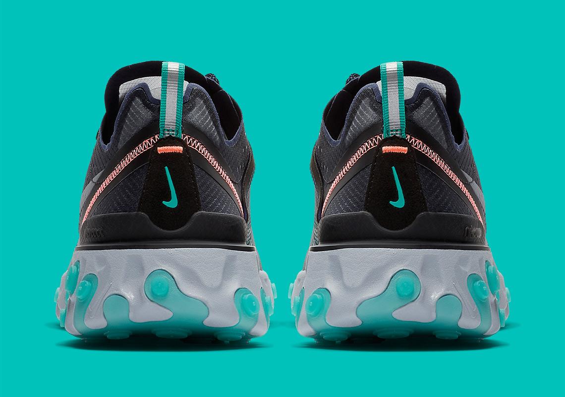 34e11576bf051 Where To Buy Nike React Element 87 Neptune Green Bright Mango AQ1090 ...