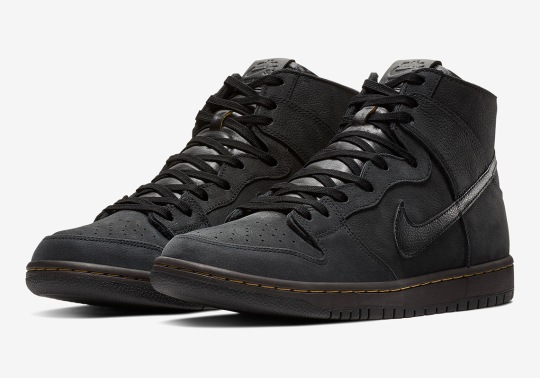 The Nike SB Dunk High Gets Completely Deconstructed
