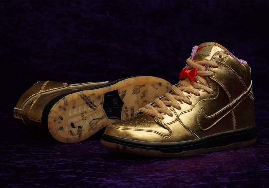 Humidity NOLA's Jazz-Inspired Nike SB Dunks Releases On September 22nd