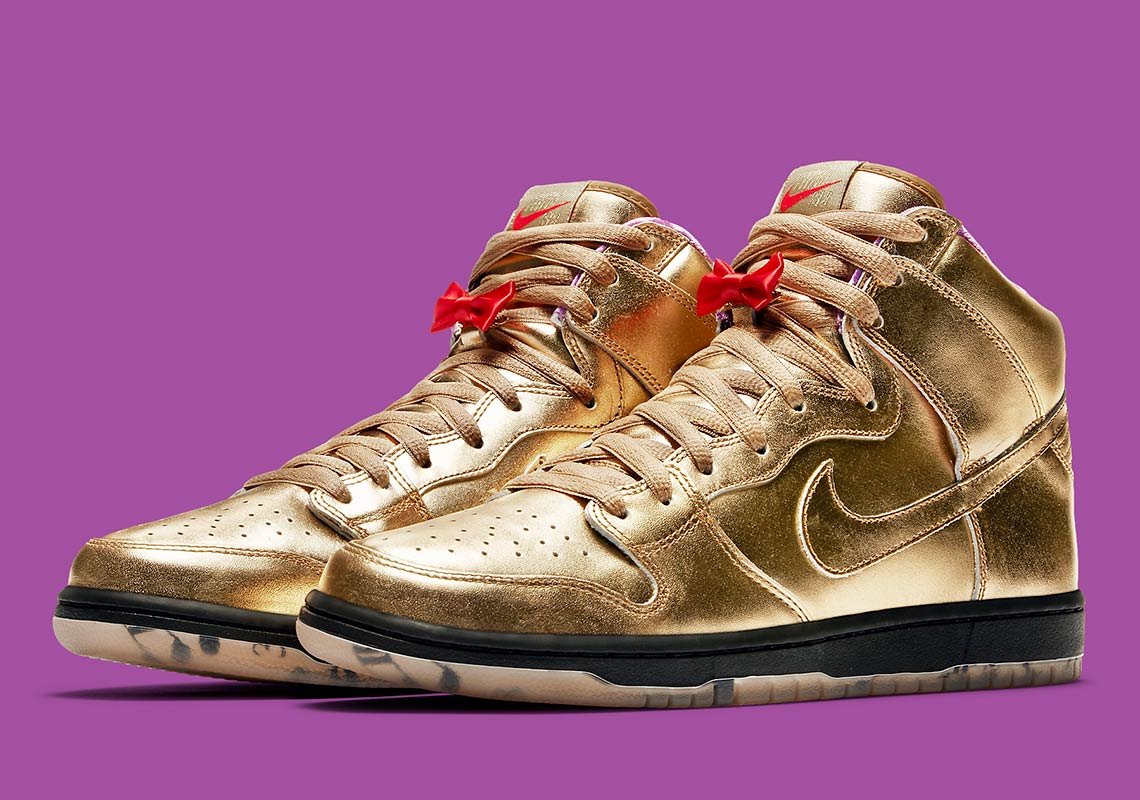 new arrival e2c77 49d49 Humidity Nike SB Dunk High NOLA Release Date | SneakerNews.com
