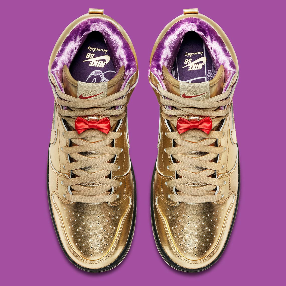 new arrival e428a e24c3 Humidity Nike SB Dunk High NOLA Release Date | SneakerNews.com