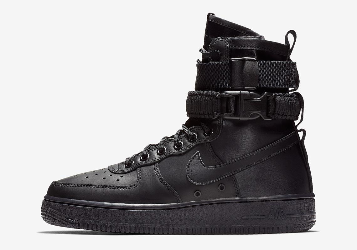 Nike SF-AF1 Triple Black 857872-005