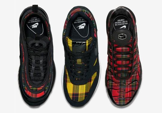 """Nike's """"Tartan Pack"""" For Women Releases September 13th On SNKRS"""