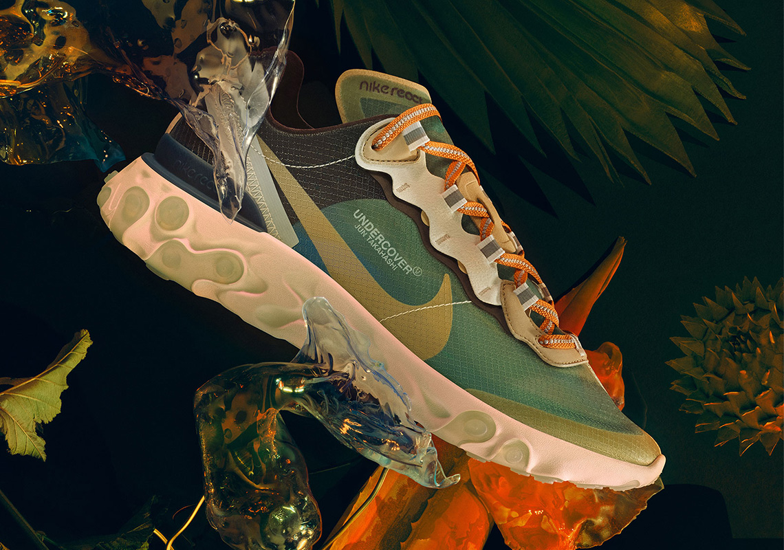UNDERCOVER Nike React Element 87 Store List |