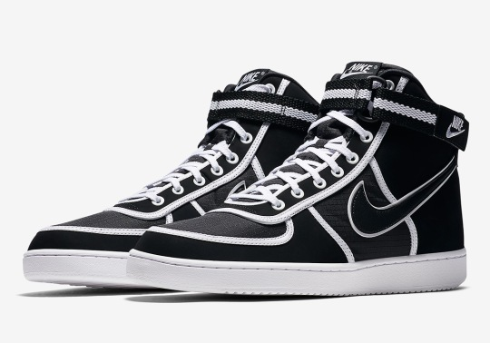 The Nike Vandal High Returns In A Black And White Colorway