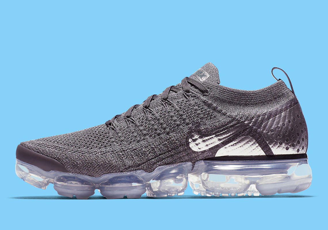 "176f66a7f0a294 Nike Vapormax Flyknit 2 ""Chrome"" Is Dropping Soon"