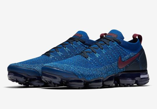 """Nike Vapormax Flyknit 2.0 """"Gym Blue"""" Is Coming Soon"""