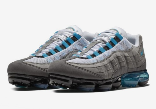 """The Nike Vapormax 95 """"Neo Turquoise"""" Is Coming Soon"""