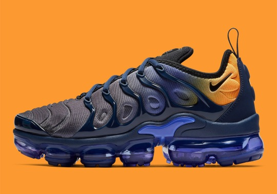 The Nike Vapormax Plus In Blue And Orange Is Arriving Soon