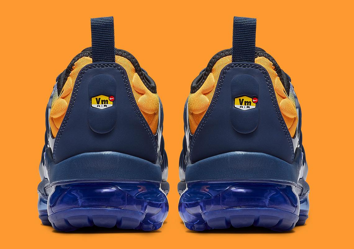 caea1024810ca Nike Vapormax Plus Blue Orange AO4550-500 Release Info