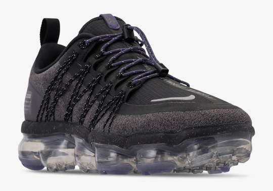 The Nike Vapormax Run Utility Features Full Reflectivity And Water Repellent Uppers