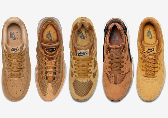 "Nike Just Dropped A Full ""Wheat"" Pack For Fall"