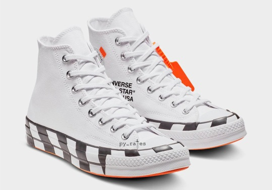 Detailed Look At The Off-White x Converse Chuck 70 For October