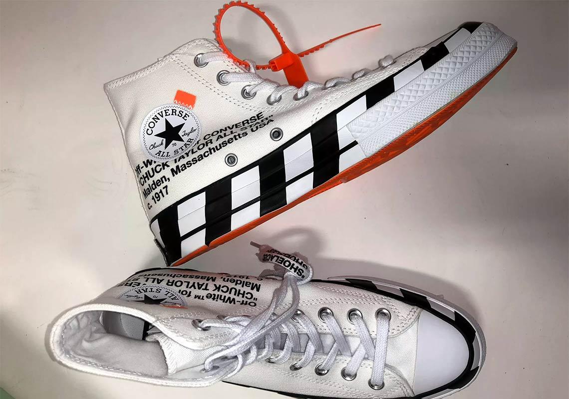 3560aef42fa2 Off-White Converse Chuck Taylor Release Date