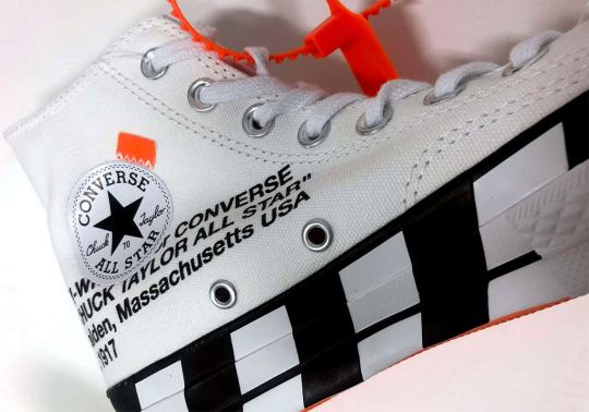 The Next Off-White x Converse Chuck 70 Is Releasing In October