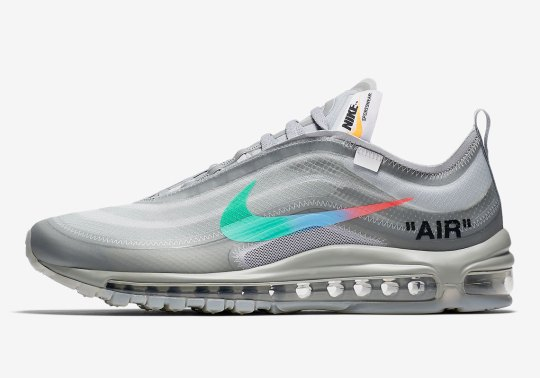 "Official Images Of The Off-White x Nike Air Max 97 ""Menta"""