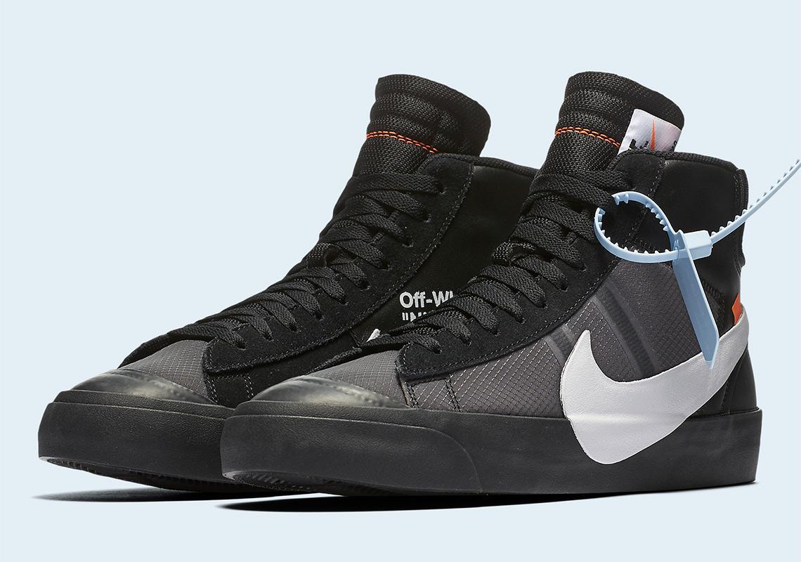 8dce1daf366 Off-White Nike Blazer Black Grim Reaper - Where To Buy