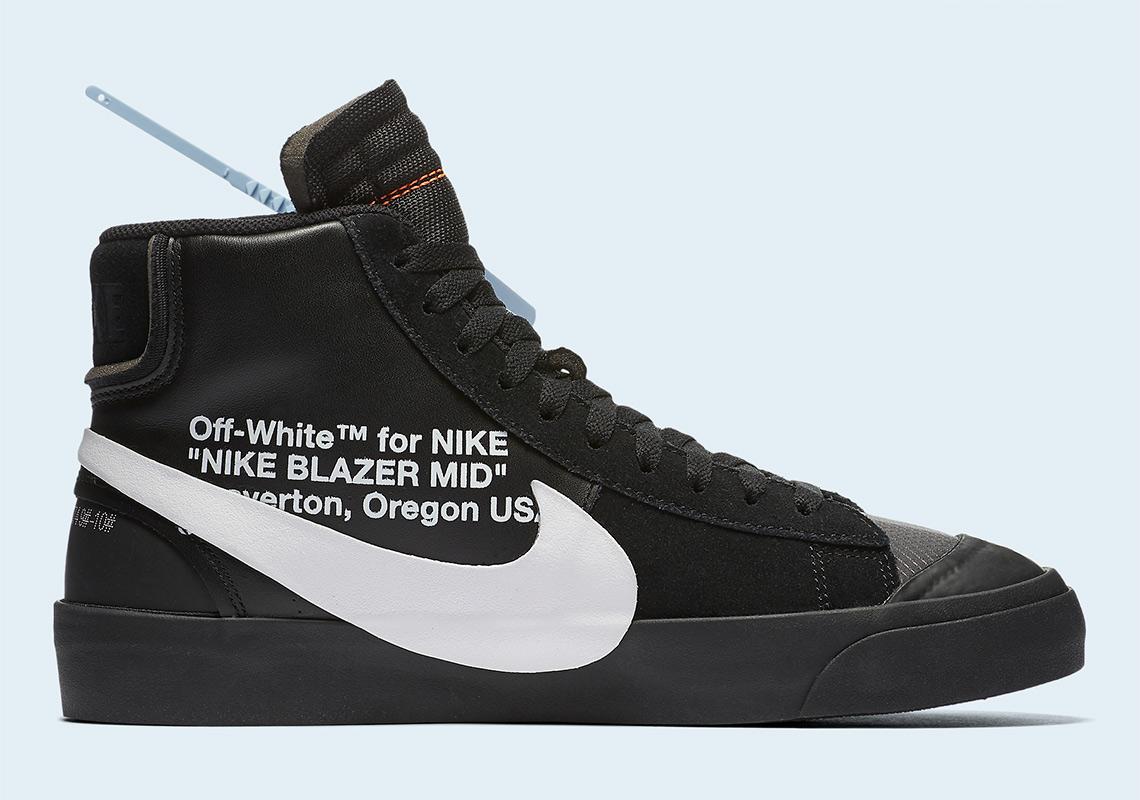 7702bdfe6d8c Off-White Nike Blazer Black Grim Reaper - Where To Buy