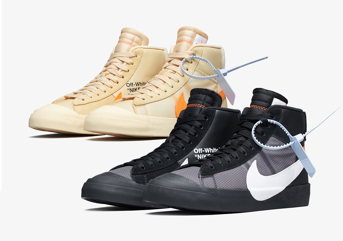 "a63a83b44ad261 Official Images Of The Off-White x Nike Blazer ""Grim Reaper"" And ""All  Hallow s Eve"""