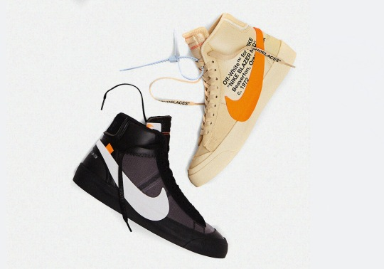 "Off-White x Nike Blazer ""Grim Reaper"" and ""All Hallow's Eve"" Release On October 3rd"