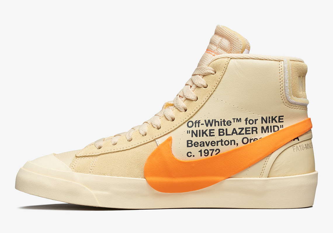 new arrival b0723 f1d93 Off-White Nike Blazer Grim Reaper + All Hallow s Eve Release Date ...