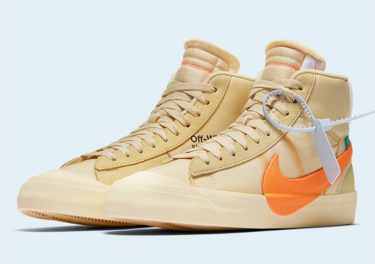 "Where To Buy The Off-White Nike Blazer ""All Hallows Eve"""