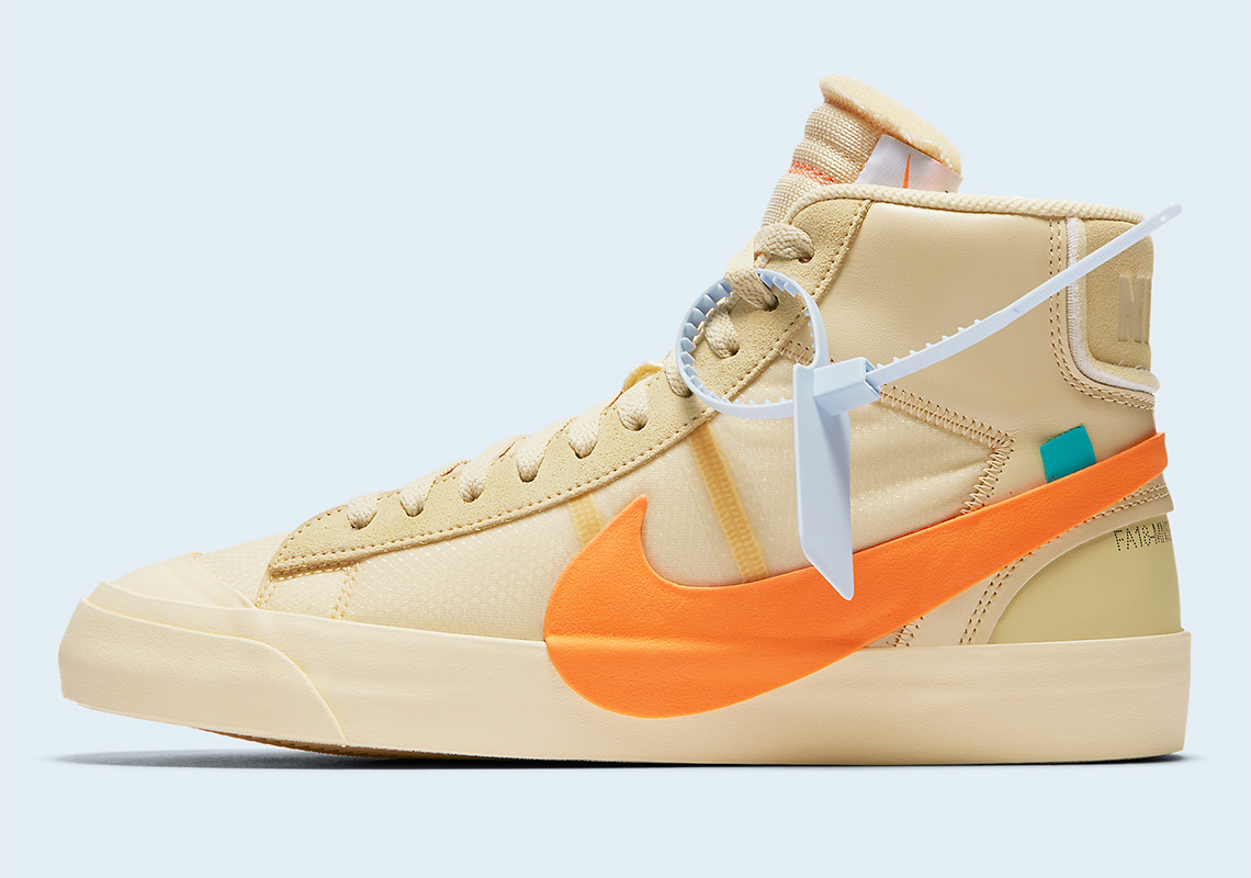6133ca7206c Off White Nike Blazer Orange All Hallows Eve Where To Buy ...