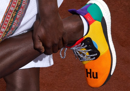 Pharrell And adidas To Release The Solar Hu Glide Beginning This Weekend