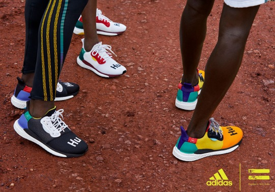 adidas Officially Announces The Pharrell SOLARHU Collection