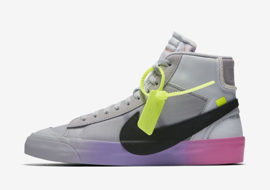 Official Images Of Serena Williams' Off-White Nike Blazers