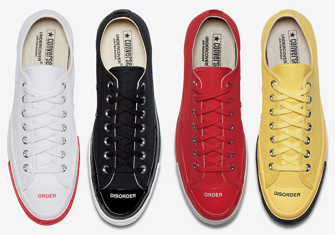 check out b1228 094e1 UNDERCOVER x Converse Chuck Taylor 70 Low Release Info
