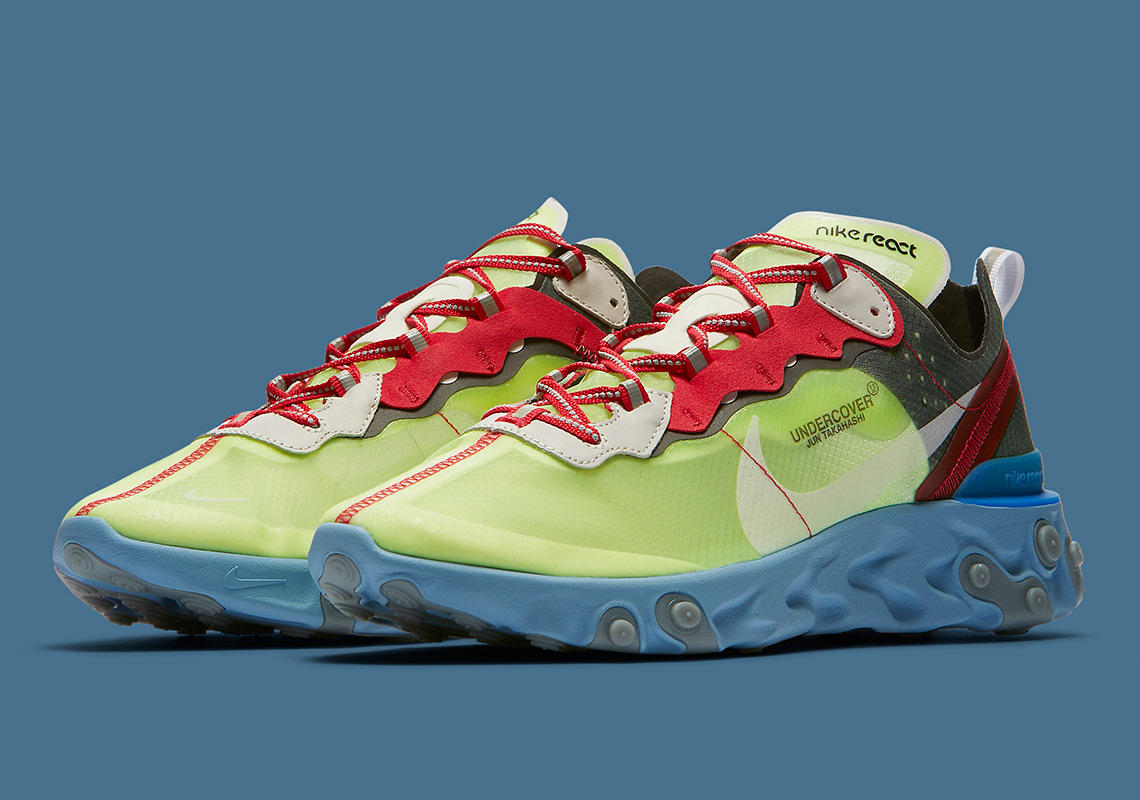 401998dc2369 UNDERCOVER x Nike React Element 87. Release Date  September 13th